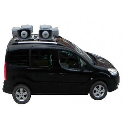 Araç üstü mıknatıslı ses sistemi 6 hoparlör