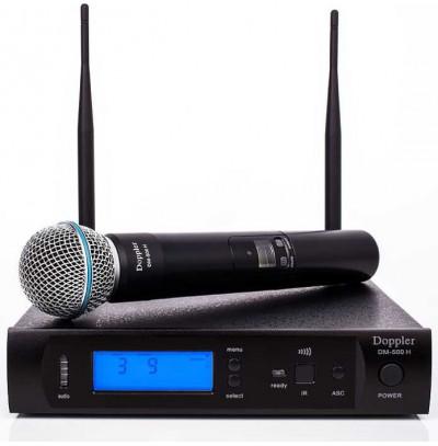 Doppler Dm 500h Tek El Telsiz Mikrofon