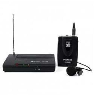 Doppler Vh-100B Tek Yaka Vhf Telsiz Mikrofon