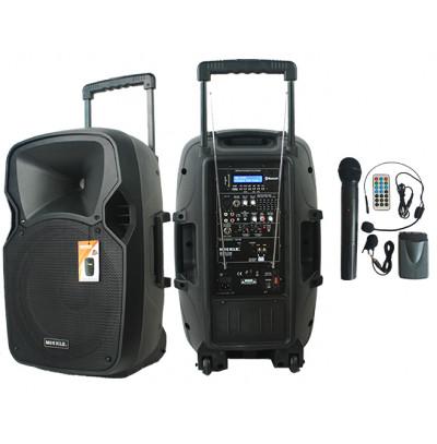 Mickle Mp1230 Seyyar Portatif Ses Sistemi,Taşınabilir Kablosuz Ses Sistemi
