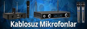 Kablosuz Mikrofonlar